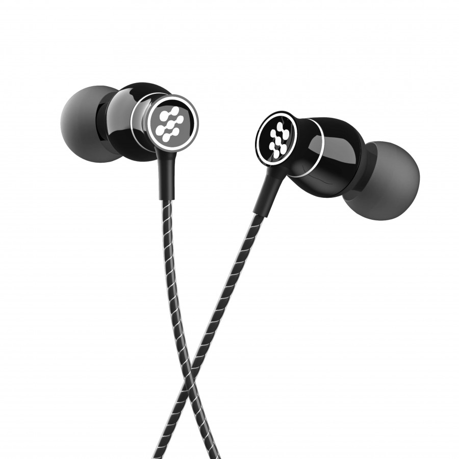 Florid BassMachine 009 in-Ear Headphones with High Quality Extra Bass and Mic (Black)