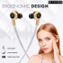 Florid Phoenix 2020 Limited Edition in-Ear Premium Headphones with High Quality Super Bass and Mic